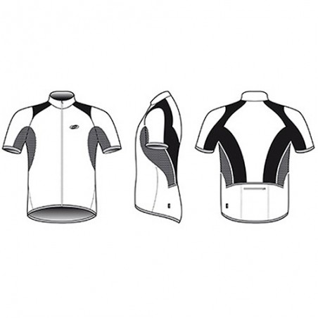 Maillot M/C BBB Comforttech Blanco T-M Bbw-104 Referencia/Part nº: 2911501025