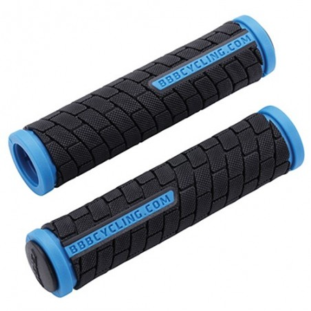 Puños BBB Dual Grip 125mm. Negro/Azul Bhg-06 Referencia/Part nº: 2911501025