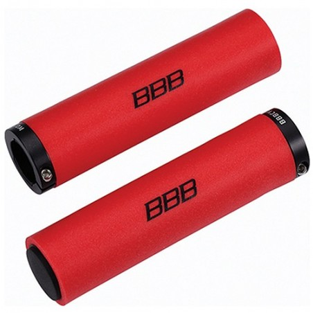 Puños BBB Silicona Stickyfix 130mm Rojo Bhg-35 Referencia/Part nº: 2911501025