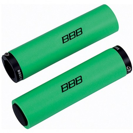 Puños BBB Silicona Stickyfix 130mm Verde Bhg-35 Referencia/Part nº: 2911501025