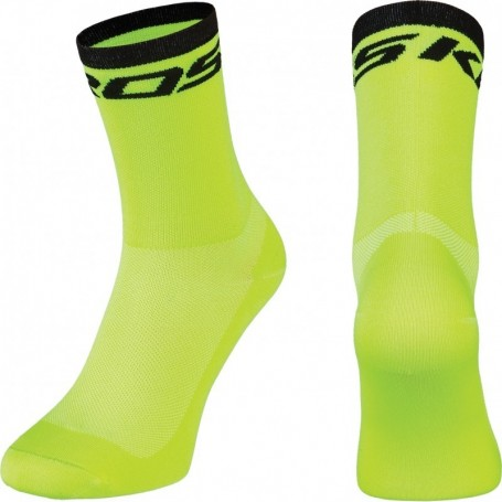 Calcetines Tecnicos Ciclismo Kross PRS Team Amarillos Technical Cycling Socks
