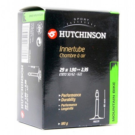 Camara Hutchinson Standard 27.5X1.70-2.35 48mm. Schrader Referencia/Part nº: 2911501025
