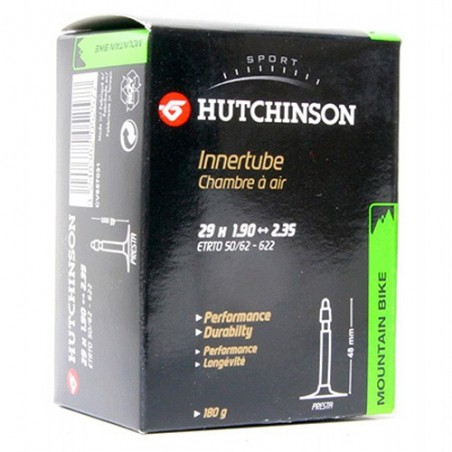 Camara Hutchinson Standard 29X1.90-2.35 48mm. Schrader Referencia/Part nº: 2911501025