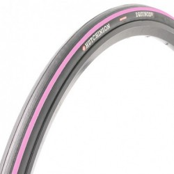 Cubierta Hutchinson carretera Equinox 2 Negra/Rosa 700X23 Aro Flexible Referencia/Part nº: 2911501025