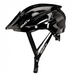 Casco 7 Protection M4-17 Negro/Blanco T-S/M (54-58Cm) Referencia/Part nº: 2911501025