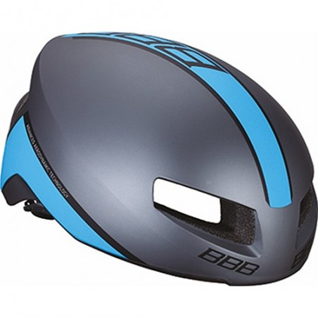 Casco BBB Carretera Tithon BHE-08 Gris-Azul T-L Referencia/Part nº: 2911501025